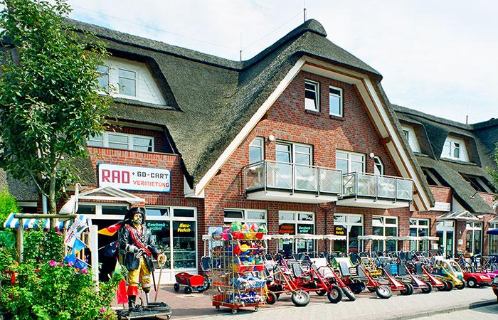 Fahrrad und Kanuverleih Horumersiel Schillig